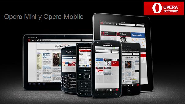 Opera lanza una nueva versión de su navegador para Android