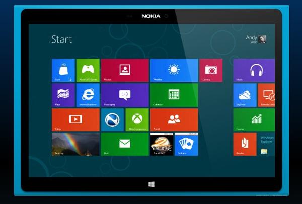 Nokia: la tableta de Windows llegará en septiembre, y un phablet en noviembre