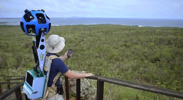 Street View, el descubrimiento de las Islas Galápagos con Google