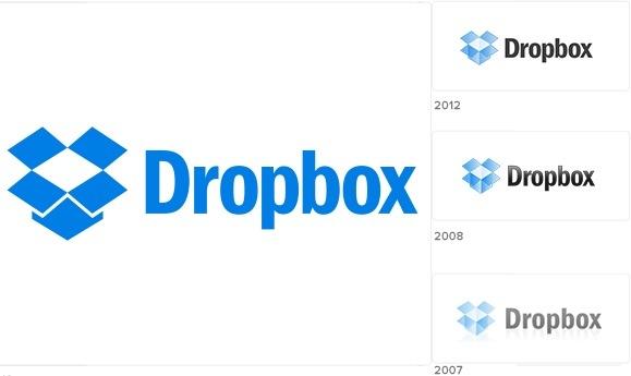 Dropbox presenta cambios en el logotipo