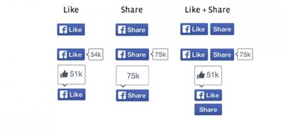 """Facebook rediseña el """"Like"""" o """"Me Gusta"""" por primera vez"""