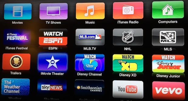 Apple TV, nuevo canal Theater iMovie