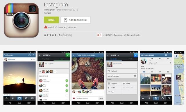 Instagram se actualiza a la versión 5.0