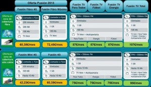 telefonica lanza movistar fusion tv