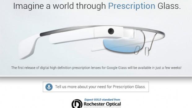 Google Glass, los precios de los marcos de Rochester Optical