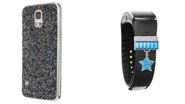 Samsung Galaxy S5 y Samsung Gear Fit Swarovski Edition
