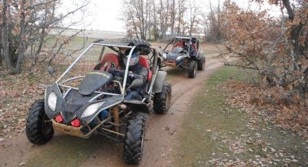 Buggies rutas llenas de diversion