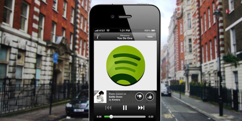 Spotify para iOS, actualización