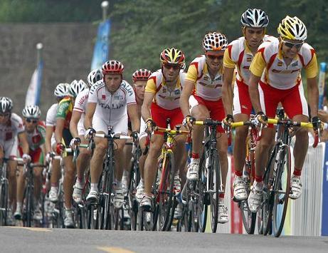 Telefonica apoya a la seleccion en el Mundial de Ciclismo