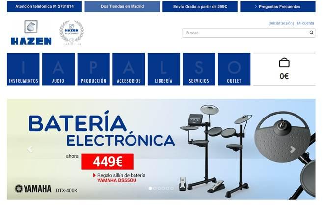Hazen lanza su nueva tienda online