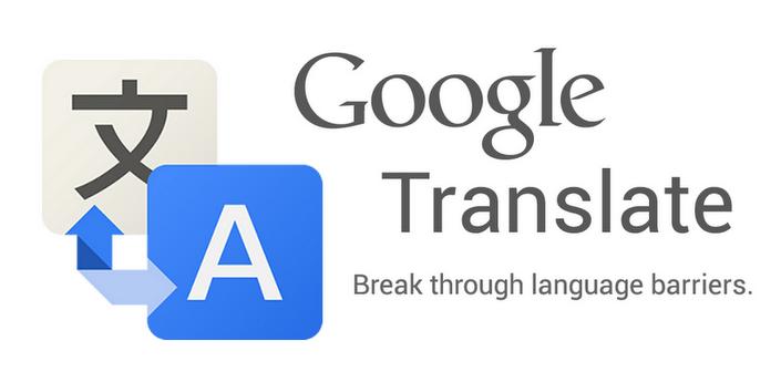 Google Translate, traducción en tiempo real