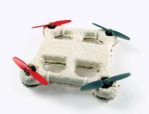 Drone biodegradable