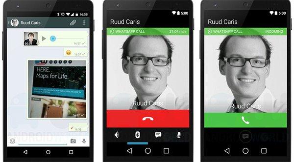 WhatsApp incorpora llamadas de voz