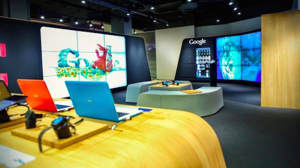 Google abre una tienda física en Londres