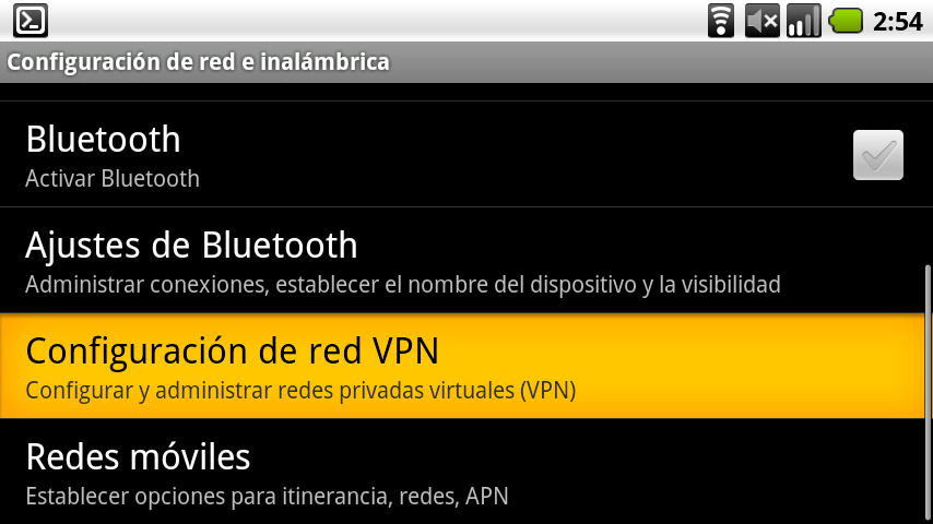 VPN para Android de Google