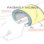 Samsung patenta un teléfono con tecnología wearable en forma de reloj