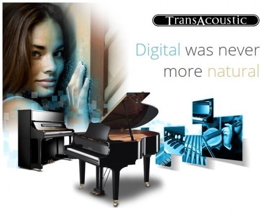 Tienda de instrumentos musicales dispone del  piano Yamaha TransAcoustic