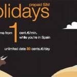 Orange relanza 'Holidays', tarjeta prepago para turistas