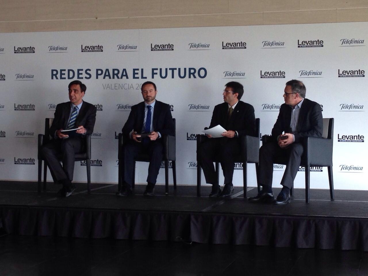 """Telefónica participa en la """"Jornada Redes para el futuro"""""""