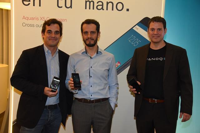 Telefónica lanza BQ Aquaris X5, primer dispositivo con Cyanogen OS