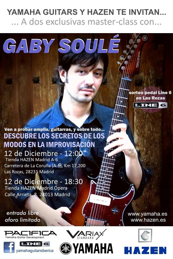 Master class con gaby soule