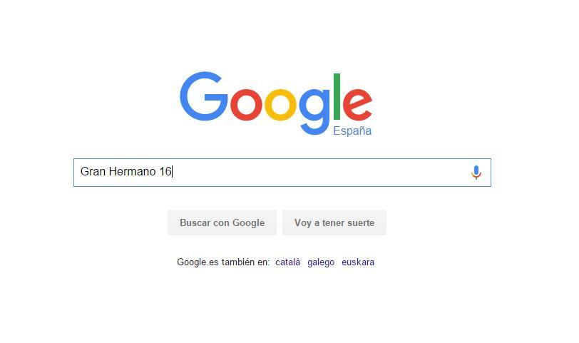 Gran Hermano 16, lo más buscado en Google este año