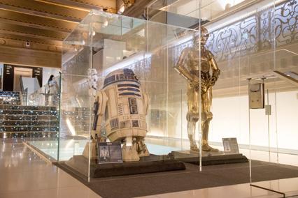 Telefónica Flagship Store acoge exposición exclusiva de Star Wars