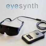 Unas gafas españoles permiten ver mediante sonidos