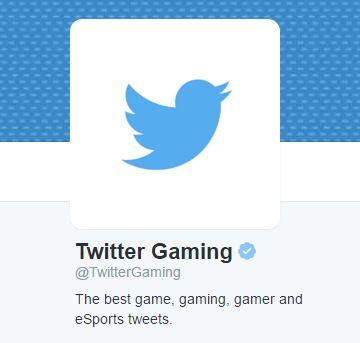 Twitter estrena cuenta oficial dedicada al Gaming