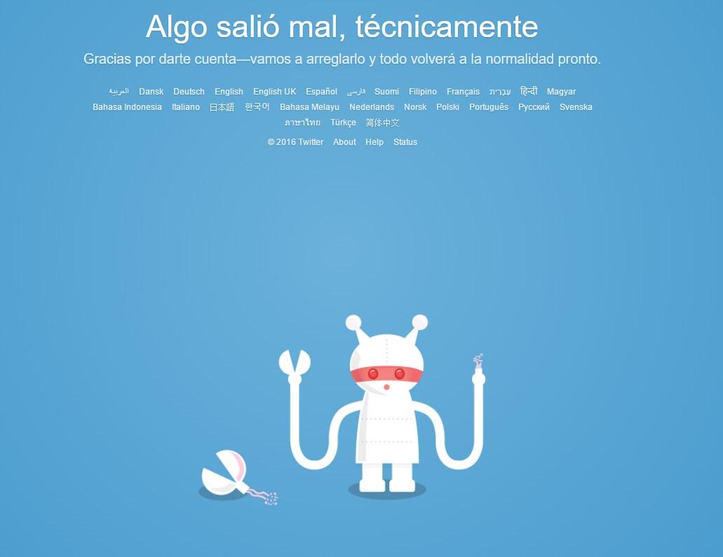 Twitter registra problemas de acceso durante varias horas