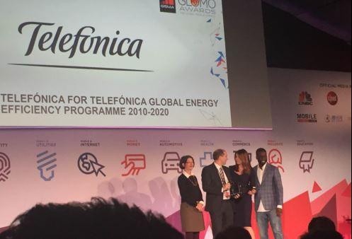 Telefónica, premiada por su 'Programa de Eficiencia Energética'
