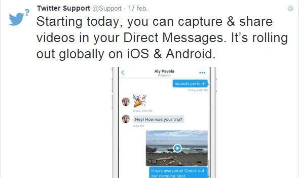 Twitter añade botón de búsqueda de GIFs y soporte de vídeo en MD