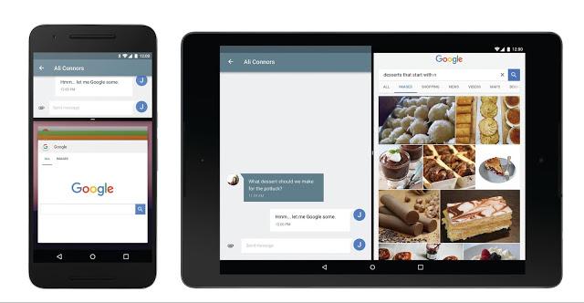 Primeras características de Android N