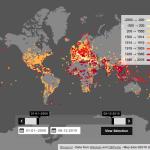 Un mapa interactivo con las batallas de la historia