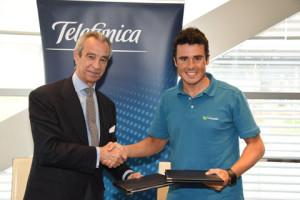 Telefónica, nuevo patrocinador de Javier Gómez Noya
