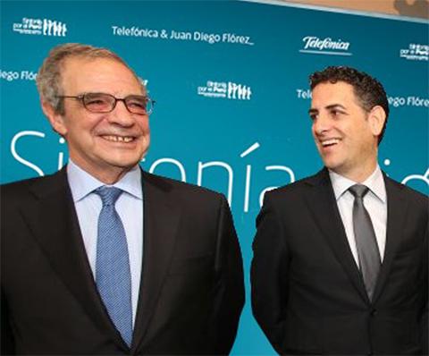 "Telefónica presenta ""Sinfonía Digital"" junto al tenor Juan Diego Flórez"