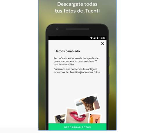 Tuenti renueva su app y ya permite descargar todas sus fotos