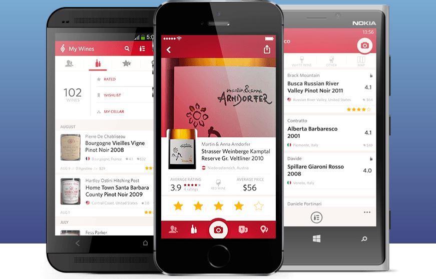 Vivino, una aplicación para elegir vino