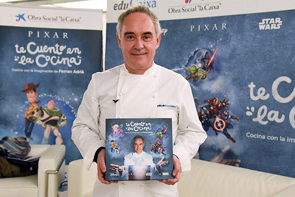 """Telefónica, Ferran Adrià y Disney, unidos en """"Te cuento en la cocina"""""""