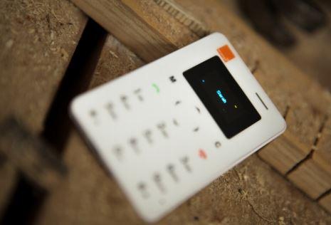 Orange lanza Card Phone, terminal básico para ocasiones puntuales