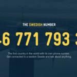 Suecia crea un número de teléfono único para hablar con los suecos