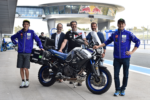 Telefónica Yamaha Globalrider, la primera vuelta al mundo en moto conectada