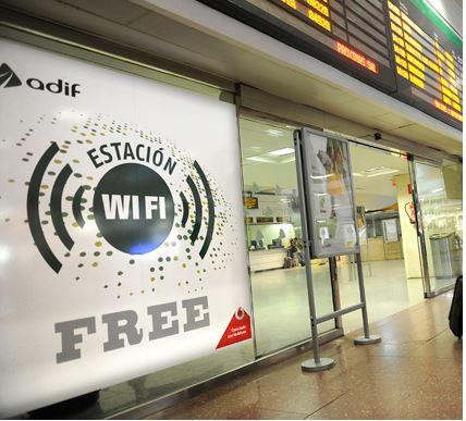 Vodafone ofrecerá WiFi gratis en la estación de Madrid-Chamartín