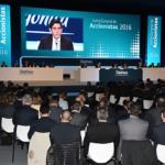 José María Álvarez-Pallete se estrena ante los accionistas con acciones a 0,75€