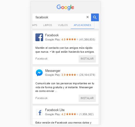 google-aplicaciones