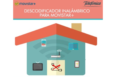 Movistar+ lanza descodificador inalámbrico