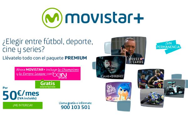 Movistar+ lidera el crecimiento de la televisión de pago en España