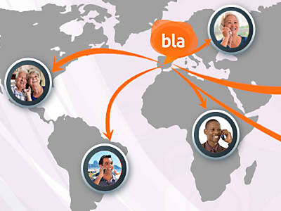 Orange lanza 'blablablapp' para llamadas al extranjero por 1 céntimo/minuto