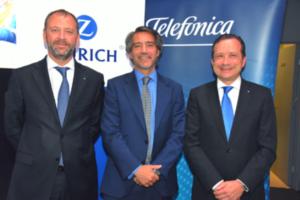 Telefónica y Zurich lanzan seguro pionero de protección online
