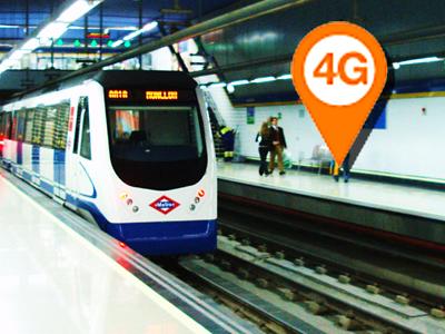 Orange se aventura en prometer 4G en las principales líneas de metro españolas